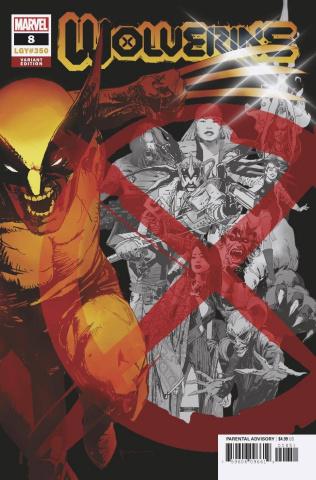 Wolverine #8 (Sienkiewicz Cover)