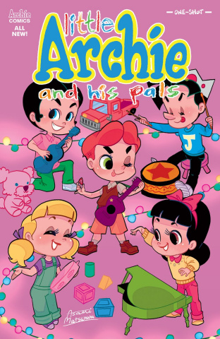 Little Archie and His Pals (Matsumura Cover)