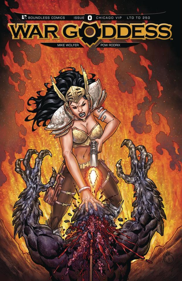 War Goddess #0 (Chicago VIP Cover)