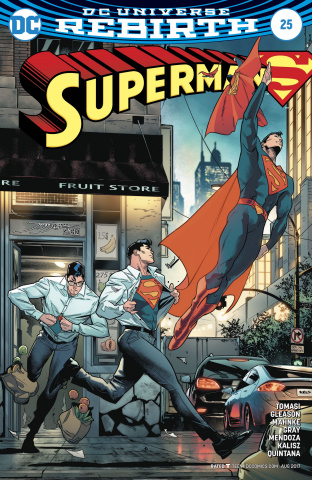 Superman #25 (Variant Cover)