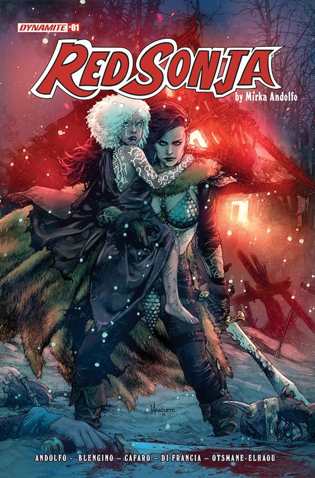 Red Sonja #1 (Anacleto Cover)