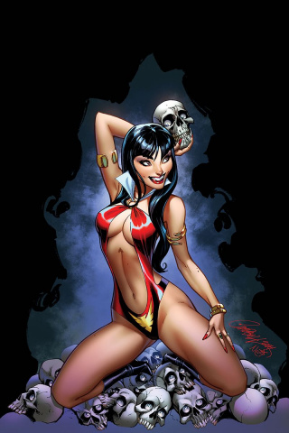 Vampirella #3 (Campbell Virgin Cover)