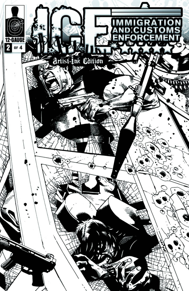 I.C.E.: Critical Mass #2 (10 Copy Cover)