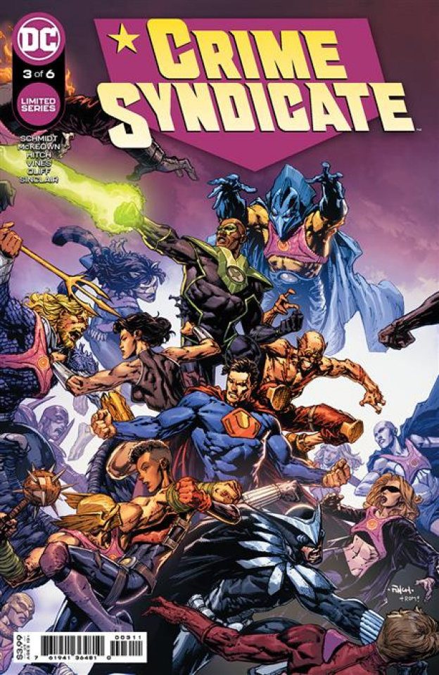 Crime Syndicate #3 (David Finch Cover)