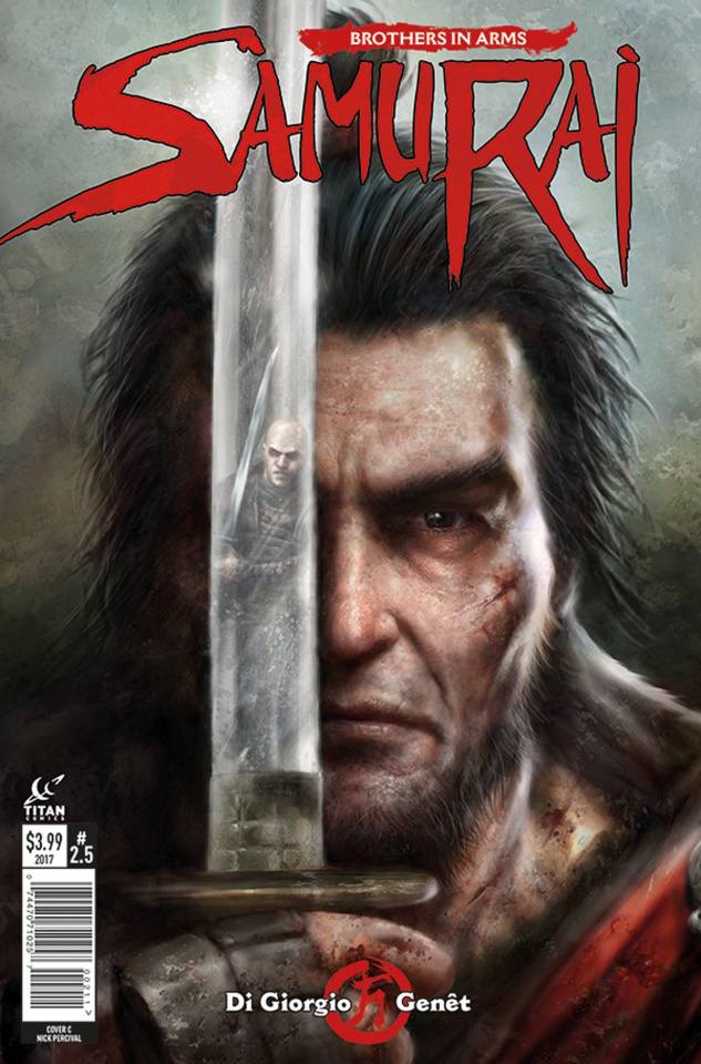 Samurai: Brothers in Arms #5 (Percival Cover)