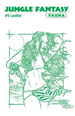 Jungle Fantasy: Fauna #0 (Leather Jungle Green Cover)