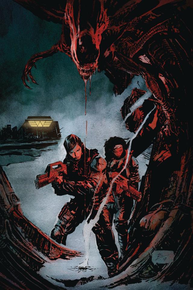 Aliens: Resistance #1 (La Torre Cover)