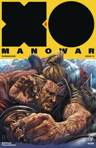 X-O Manowar #16 (Larosa Cover)