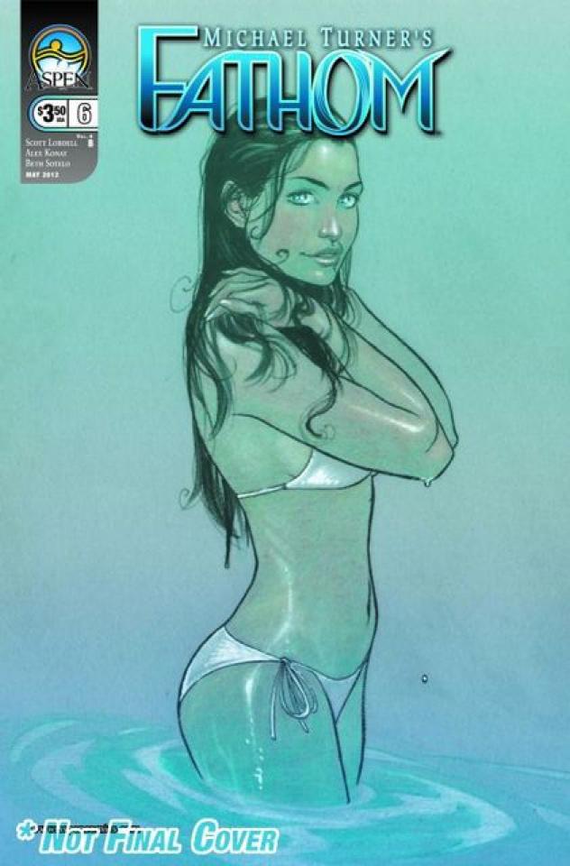 Fathom #6 (Gunnell Cover)