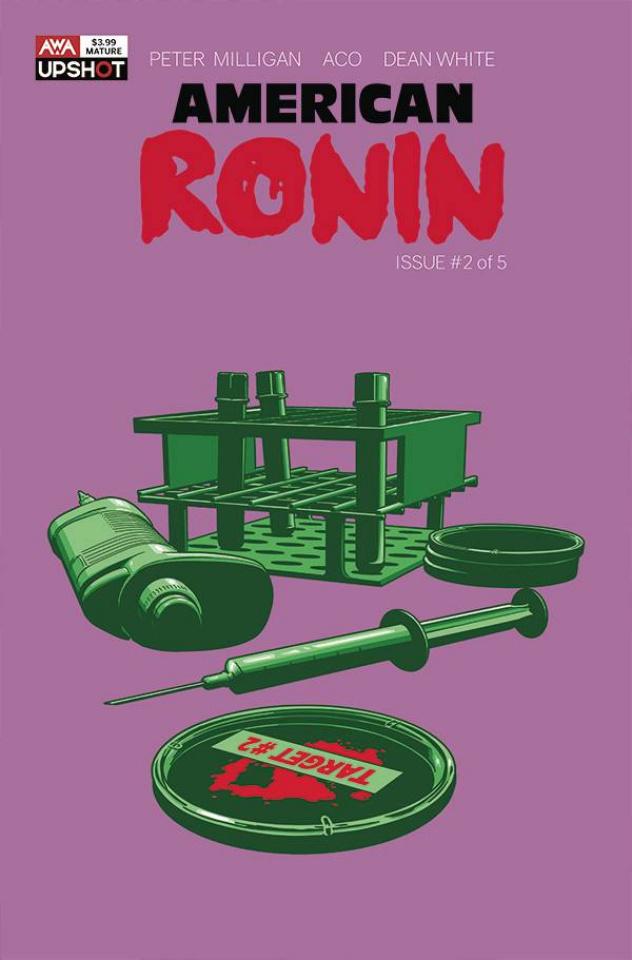 American Ronin #2 (Aco Cover)
