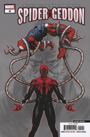Spider-Geddon #4 (Barberi 2nd Printing)