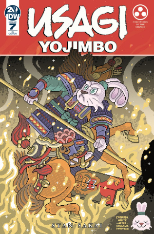 Usagi Yojimbo #7 (10 Copy Whyte Cover)
