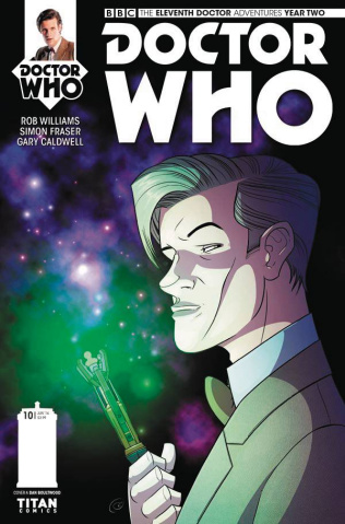 Doctor Who: New Adventures with the Eleventh Doctor, Year Two #10 (Boultwood Cover)