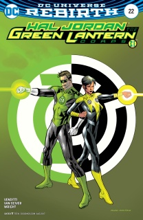 Hal Jordan and The Green Lantern Corps #22 (Variant Cover)