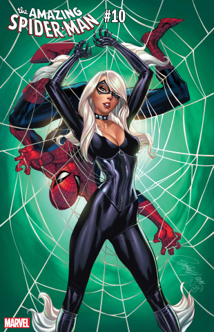 The Amazing Spider-Man #10 (Campbell Black Cat Cover)