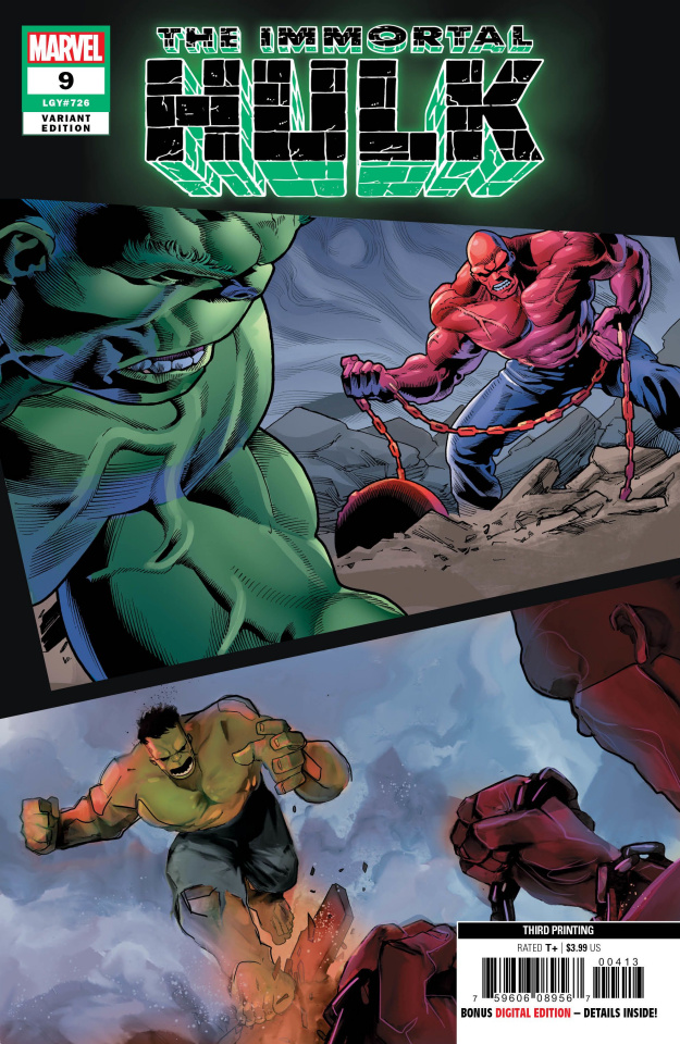 The Immortal Hulk #9 (Bennett 3rd Printing)