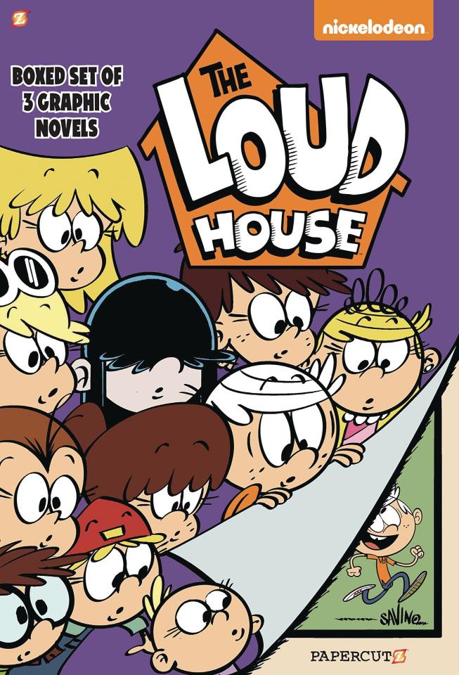 Loud House Vols 1-3 (Box Set)