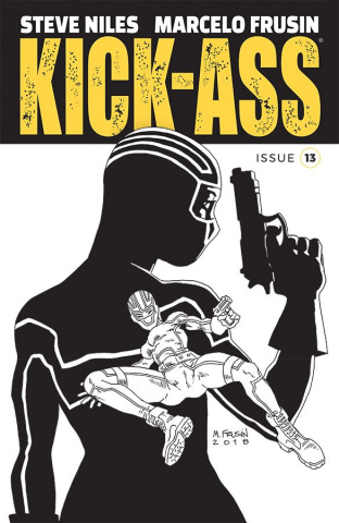 Kick-Ass #13 (Frusin Cover)