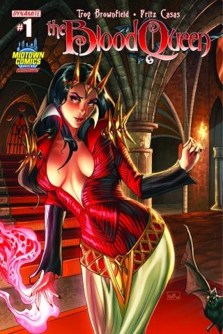 The Blood Queen #1 (Midtown Comics Cover)