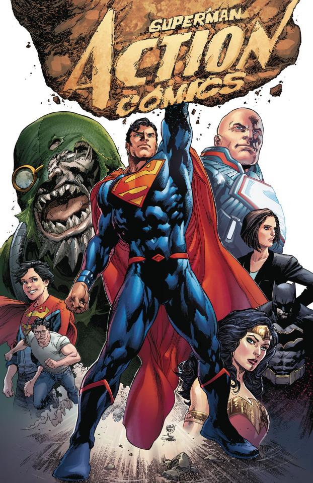 Action Comics Book 1: Rebirth