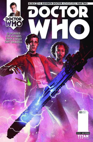 Doctor Who: New Adventures with the Eleventh Doctor, Year Two #2 (Ronald Cover)