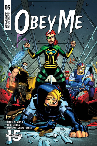 Obey Me #5 (Herrera Cover)