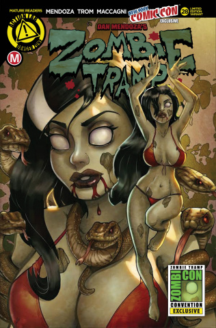 Zombie Tramp #28 (NYCC Cover)