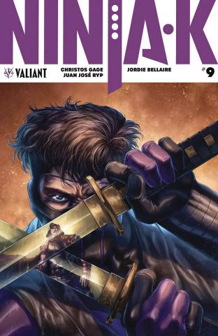 Ninja-K #9 (Quah Cover)
