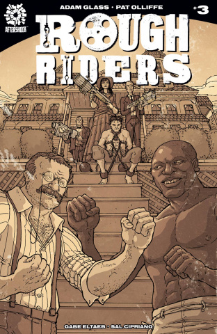 Rough Riders #3 (10 Copy Nick Pitarra Cover)