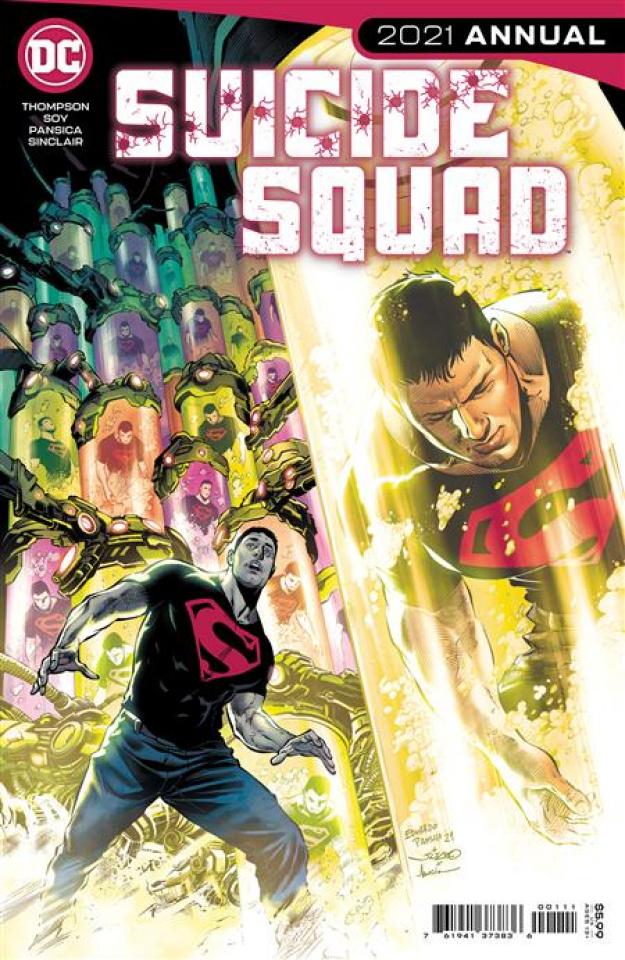 Suicide Squad 2021 Annual #1 (Eduardo Pansica Cover)