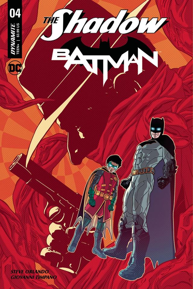 The Shadow / Batman #4 (Aco Cover)