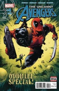 Uncanny Avengers #4 S(tegman 2nd Printing)