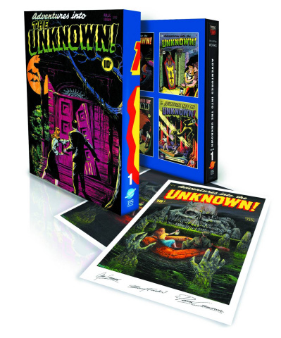 Adventures Into the Unknown! Vol. 1 (Slipcase Edition)