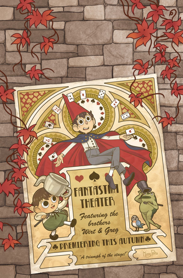Over the Garden Wall: Soulful Symphonies #2 (Preorder Cover)