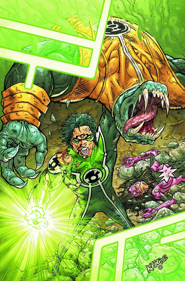 Green Lantern: New Guardians Annual #1