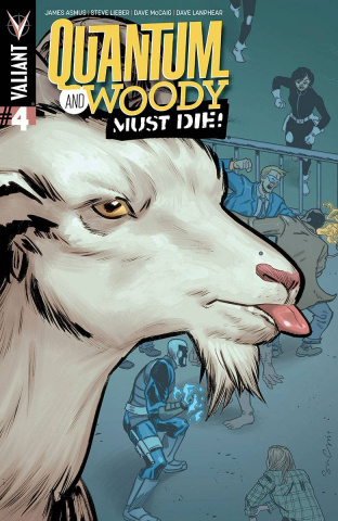 Quantum & Woody Must Die! #4 (20 Copy Grace Cover)