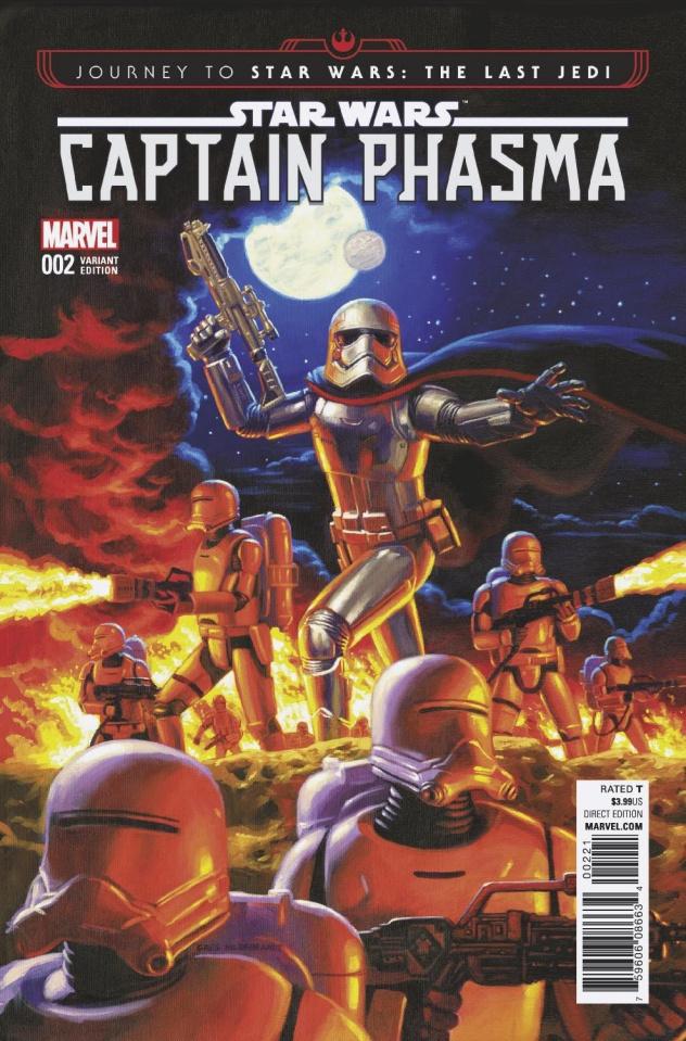 Journey to Star Wars: The Last Jedi - Captain Phasma #2 (Hilderbrant Cover)
