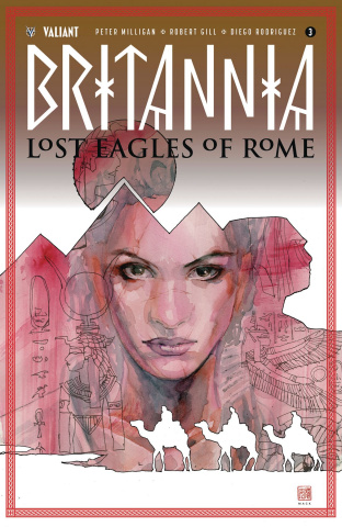 Britannia: Lost Eagles of Rome #3 (Mack Cover)