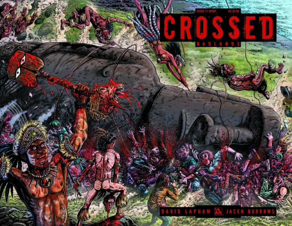 Crossed: Badlands #11 (Wrap Cover)