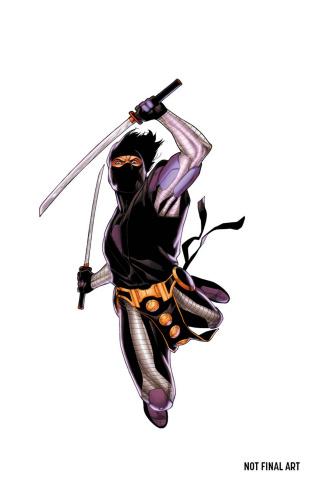 Ninjak #0 (Henry Cover)
