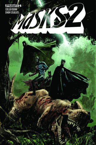 Masks 2 #6 (Guice Cover)