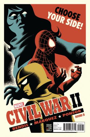 Civil War II #5 (Michael Cho Cover)