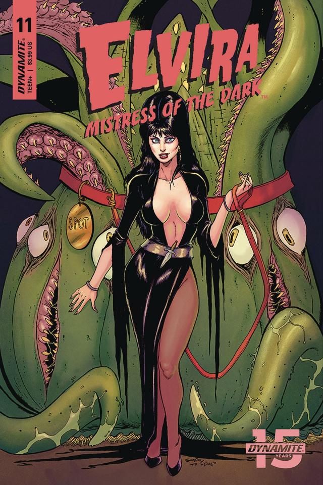 Elvira: Mistress of the Dark #11 (Seeley Cover)