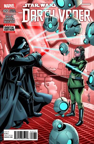Darth Vader #22 (2nd Printing Larroca Cover)