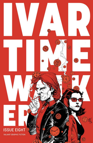 Ivar, Timewalker #8 (20 Copy Modern Gill Cover)