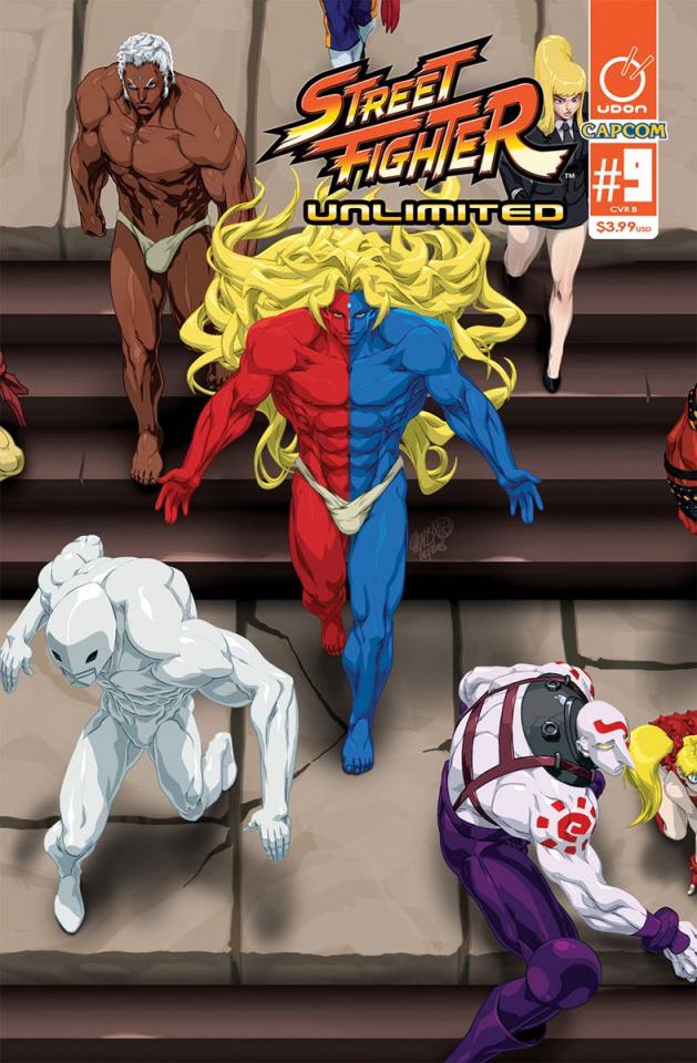 Street Fighter Unlimited #9 (Cruz Ultra Jam Cover)