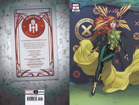 Planet-Sized X-Men #1 (Dauterman Connecting Cover)