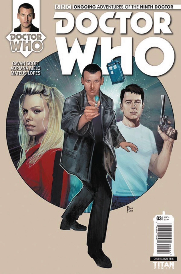 Doctor Who: New Adventures with the Ninth Doctor #3 (Reis Cover)
