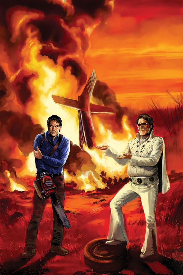 Army of Darkness / Bubba Ho-Tep #4 (10 Copy Galindo Virgin Cover)