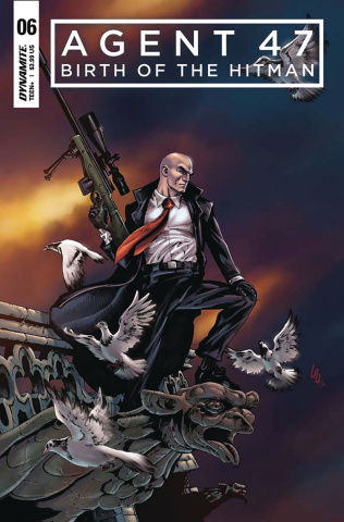 Agent 47: Birth of the Hitman #6 (Lau Cover)